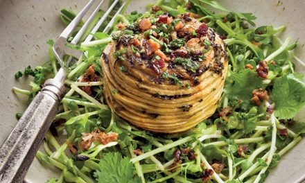 "APPLE ""BIRD'S NEST"" SALAD BY PASCALE BEALE"