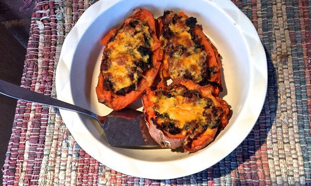 Stuffed Jeweled Yams with Tarragon