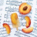 Bourbon & Peach Sweet Tea Popsicles