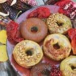 Blue Corn and Almond Flour Donuts
