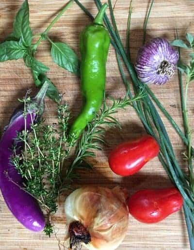 Ingredients for Greek Chicken