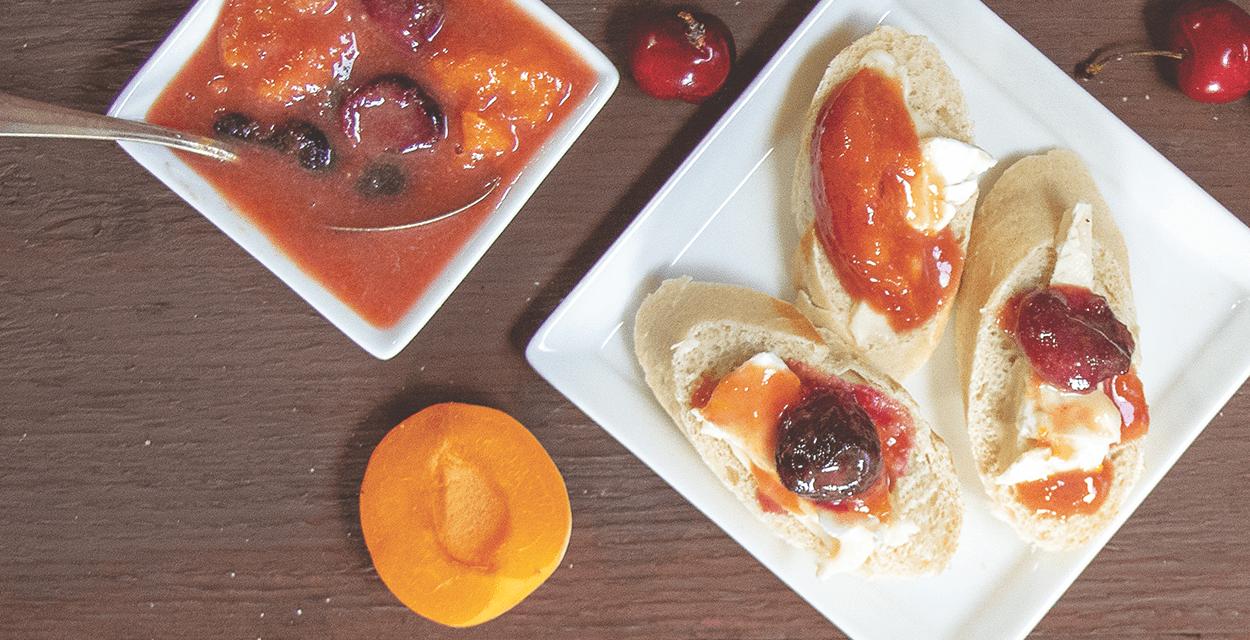 Apricot and Cherry Mostarda