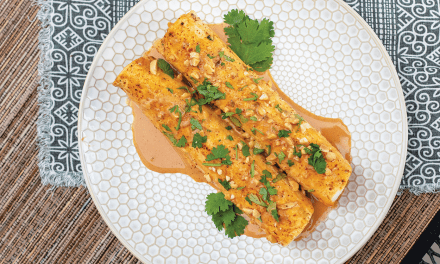 Laotian Chicken Enchiladas