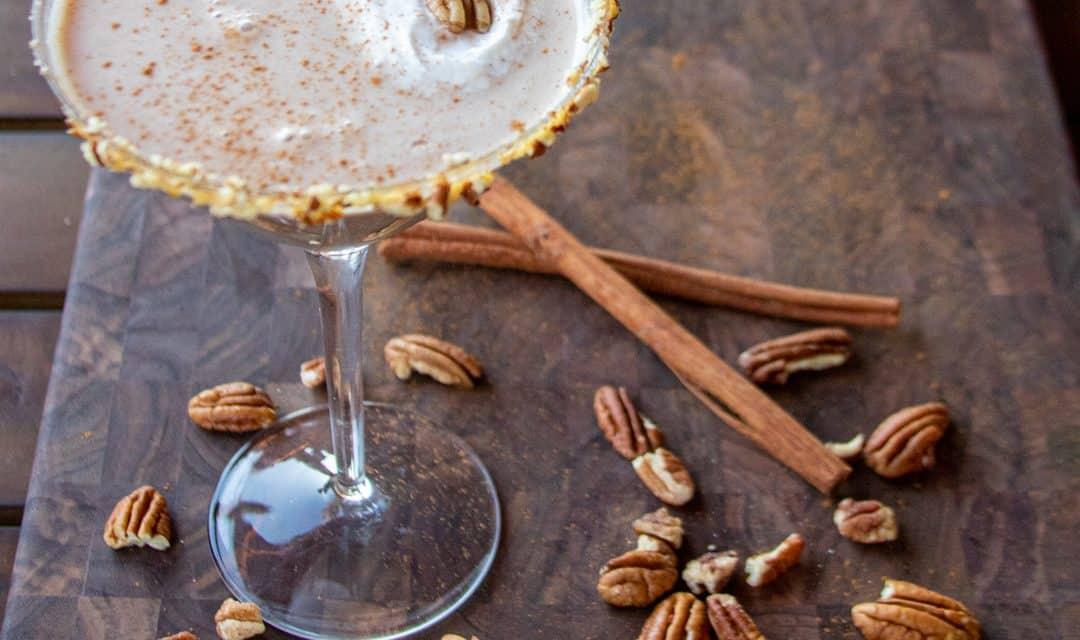 Del Valle Pecan Pie Martini