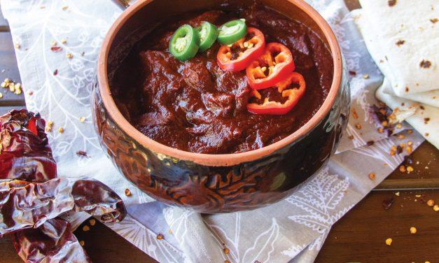 Chile Rojo Con Carne